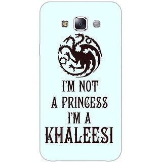Absinthe Game Of Thrones GOT Princess Khaleesi Back Cover Case For Samsung Galaxy J3