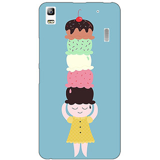 Absinthe Ice Cream Back Cover Case For Lenovo K3 Note