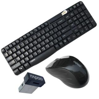 Wireless Optical Mouse  Keyboard