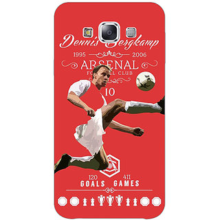 Absinthe Arsenal Dennis Bergkamp Back Cover Case For Samsung Galaxy J3