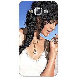 Absinthe Bollywood Superstar Jacqueline Fernandez Back Cover Case For Samsung Galaxy J3