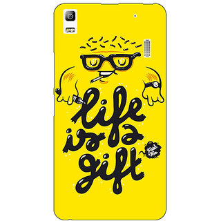 Absinthe Life Quote Back Cover Case For Lenovo K3 Note