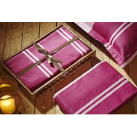 House This 1 Double Bedsheet With 2 Pillow Covers (Design 8)