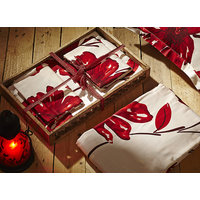 House This 1 Double Bedsheet With 2 Pillow Covers (Design 1)