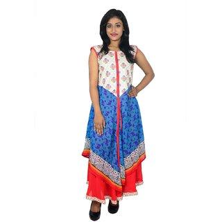 khushee multicolour Cotton kurti