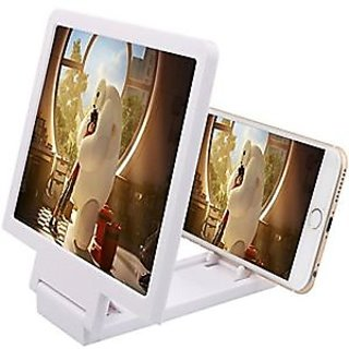 3D Virtual Portable Screen Magnifier Enlarge Foldable Stand Holder For mobiles