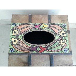 Madhubani tissue box
