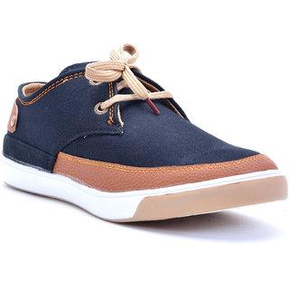 Boysons Mens Black Lace-up Smart Casuals Shoes