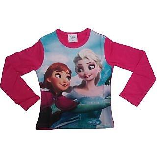 Sonpra Kids Disnep Girl Quality Printed Cotton T-Shirt