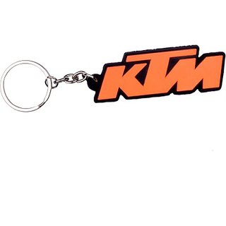 Favourite Bikerz Ktm Design Key Chain (Orange)