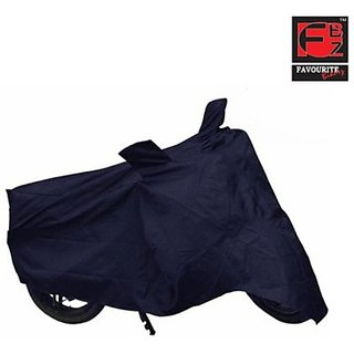 Favourite Bikerz Fbz 2W Cover 8804 Two Wheeler Cover (Blue)