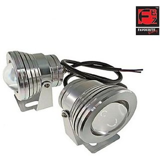 Favourite Bikerz Fbz Projector Fog Lights 7747 Car Led Bulb (Fog Lamp Pack Of 2)