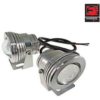 Favourite Bikerz Fbz Projector Fog Lights 7751 Car Led Bulb (Fog Lamp Pack Of 2)