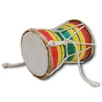 Sg Musical Multicolour Wooden Damru/Monkey Drum Sdl596708610