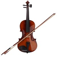 Sg Musical Violin With Rosin And Bow Sdl347022333