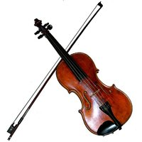 Sg Musical Violin With Rosin And Bow Sdl523899686