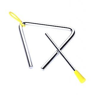 Sg Musical 1 Set Triangle Triangolo Idiophone Percussion Instrument Musical Toy For Toddler Kid Child Sdl104188474