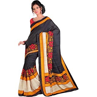 Sunaina Printed Fashion Raw Silk Saree (SARE9CVYMYMJ3ZYB)