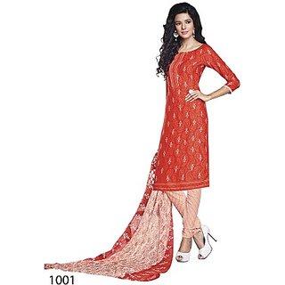 Yuvanika Crepe Printed Salwar Suit Dupatta Material (FABEE5RKTUEF38HR)