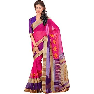 Sunaina Printed Fashion Art Silk Saree (SAREDF5EXZG8DZNY)