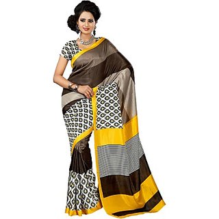 Sunaina Printed Fashion Art Silk Saree (SAREDF6YHUXASPYG)