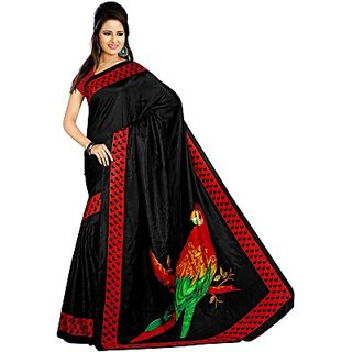 Sunaina Printed Fashion Art Silk Saree (SAREDF6YZJJZV6KG)