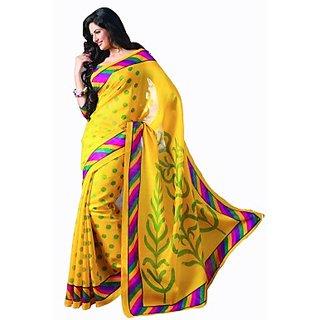Sunaina Printed Fashion Art Silk Saree (SARE4DS8HKVPZJER)