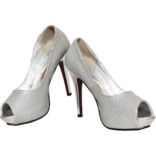 Rialto Silver Heel Sandal For Women HL190