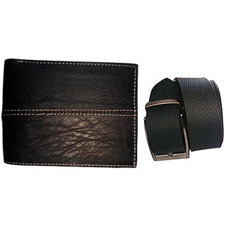 COCAKART - Leather Men Wallet and Leather Belt
