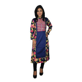 khushee multicolour Cotton kurti