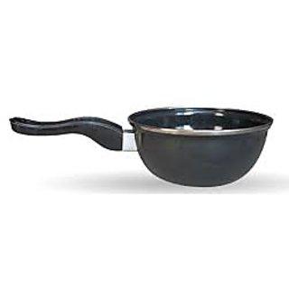 Akash Ganga (Tarka Pan) Hard Coat Safe Cookware  (1 Piece) EXPORT QUALITY