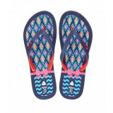 ADVICE Women Navy Flip-Flop Sl...