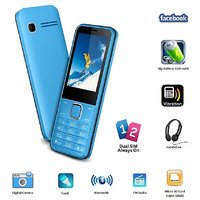Ssky S241 Dual Sim GSM With Big Battery, Facebook Multimedia Camera Mobile Phone