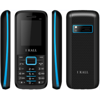 IKall K88 Black-blue (1.8 Inch,Dual Sim, BIS Certified, Made In India)