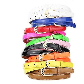 Pack of 9 Casual Stylish Ladies Multi Color Belts