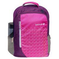 Safari Boogie Purple Causal Backpack-LXWXH-33.5X20X47
