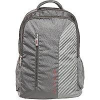 Safari Emerge Grey Causal Backpack-LXWXH-33.5X20X47