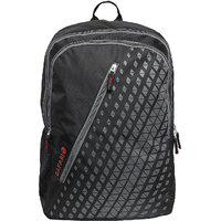 Safari-Seesaw Black Polyester Backpack For Unisex