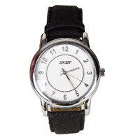 SKIN White Numeric Dial Analog Watch