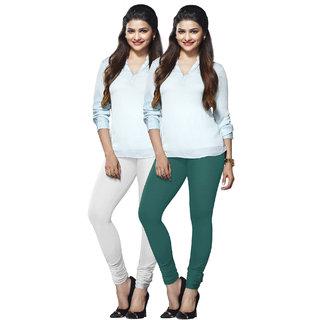 Lux Lyra Multicolored Pack of 2 Cotton Leggings LyraIC0929FS2PC