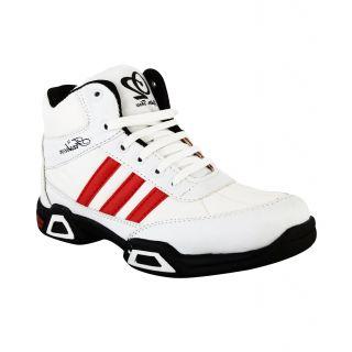 Hillsvog White Cricket men shoes-5001