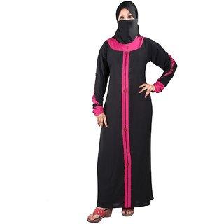 Hawai ClassyTraditional Pink Lycra Burqa