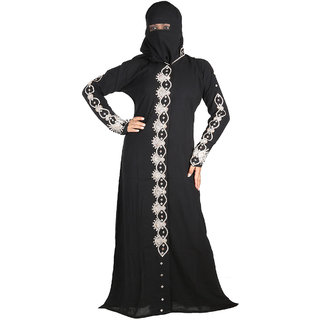Hawai Embellish Self Designer Burkha
