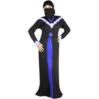 Hawai Modish V - Neck Designer Burqa