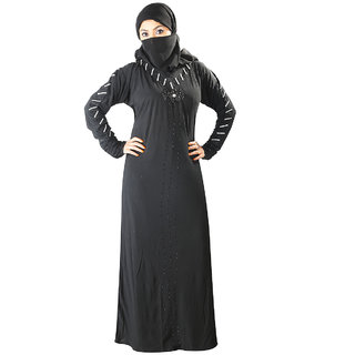 Hawai New Fashion Embroidered Burqa For Women