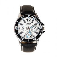 SKIN White/Blue Dial Analog Watch