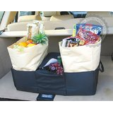 CAR TRUNK ORGANIZER - BIG BAG FOR SHOPPING, CAMPING, ROAD TRIPS Etc.
