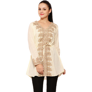 Global Colours Women Beige Tunic