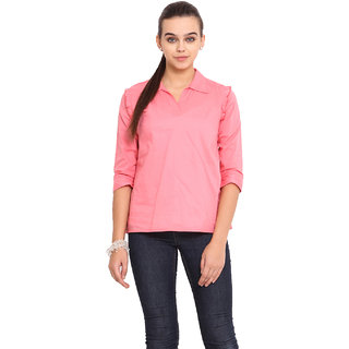 Pink Lemon Women Pink Top
