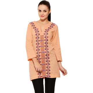 Global Colours Women Maroon Tunic